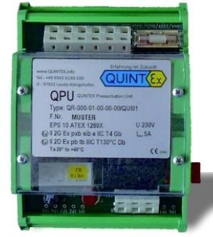 Ex p Quinguard Controller (ohne Spülvorgang) Zone 1