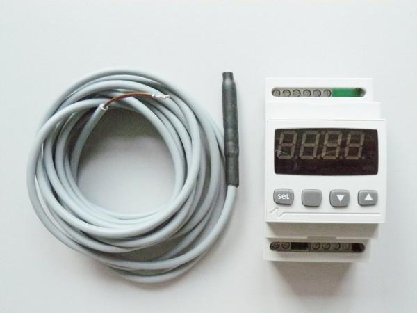 Elektronischer Regler mit Alarmkontakt
