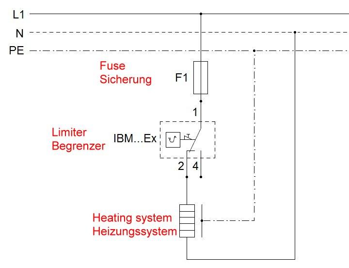 Berühmt Thermostat Schaltplan Mit Leiter Fotos - Der Schaltplan ...